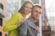 Лавстори пары на осенней прогулке в Кирове
