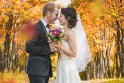Свадебная фотосессия в дендропарке в Кирове