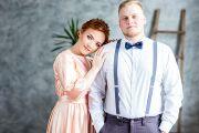 Свадебная фотосессия в Кирове в фотостудии Лайт Ап