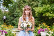 Свадебная фотосессия в Кирове в Ботаническом саду