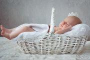Фотосессия новорожденной Даши