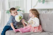 Детская фотосессия в фотостудии Давинчи в Кирове