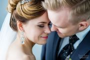 Свадебная фотосессия в Александровском костеле и фотостудии