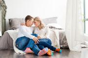 Красивая пара в фотостудии в Кирове. Lovestory