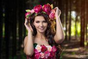 Лесная фотосессия в дендрапарке в Кирове