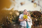 Осенняя фотосессия на улице, lovestory