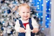 Детская новогодняя фотосессия в фотостудии Кирова