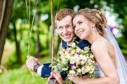 Свадебная фотосессия в Александровском парке и гостинице