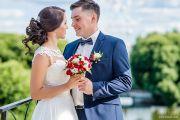 Свадебная фотосессия в Александровском парке и возле цирка