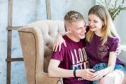 Lovestory - фотосессия для двоих в фотостудии